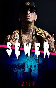 SEWER, le groupe de black métal de Swagg Man.